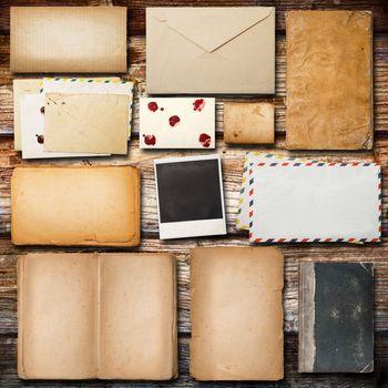 vintage paper for correspondence