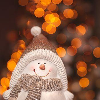 Cute little snowman decoration