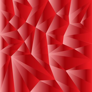 abstract geometric rumpled triangular low poly style vector illustration graphic background