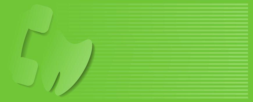 Dentist Baner Design. Dentist Dental Corporate Green Baner Design