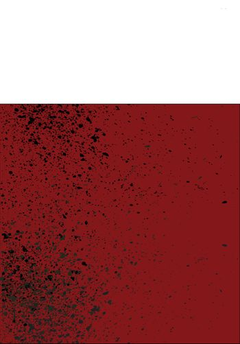 Red blood splatter background with dribble effect