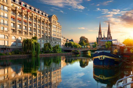 Strasbourg at sunrise