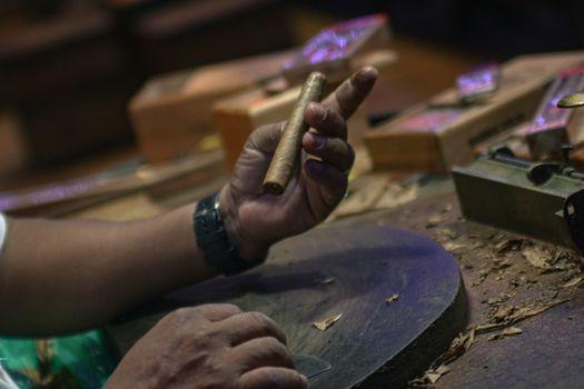 Dominican cigar manufacture