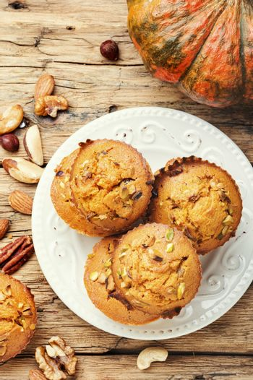 Fragrant homemade cakes, muffins.