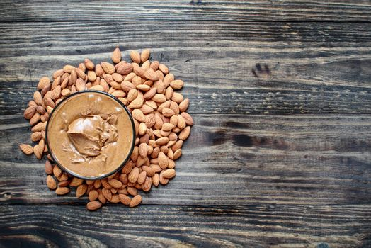 Almond Butter with Fresh Almonds