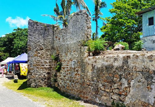 The Isle of Pines Historic Penitentiary in New Caledonia