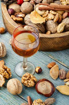 Tasty nut tincture