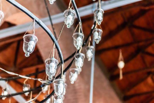 a good looking bottom up closeup shoot to antique chandelier. photo has taken at izmir/turkey.