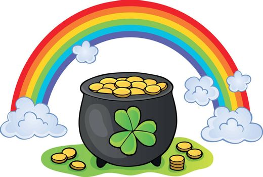 St Patricks Day theme image 2 - eps10 vector illustration.