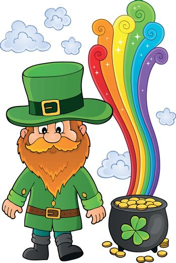 St Patricks Day theme image 6 - eps10 vector illustration.
