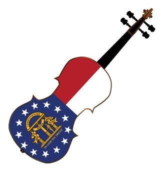 Georgia State Fiddle