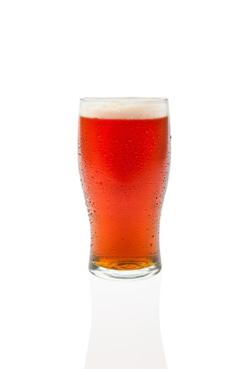 Amber Ale In Pint Glass #2