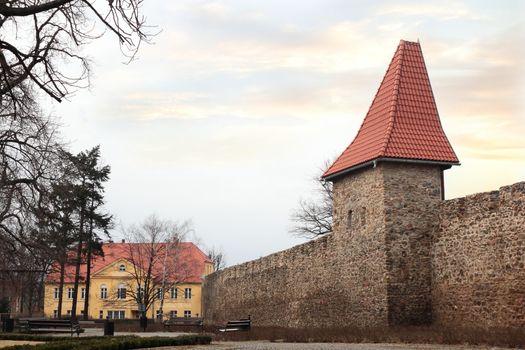 Town fortification in Swiebodzice