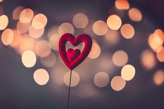 Romantic love background