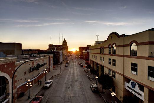 City Sunset Moose Jaw
