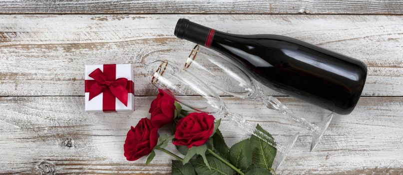 Lovely gifts for a romantic Happy Valentines Day celebration