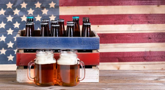 Pints of beer for the holiday parties