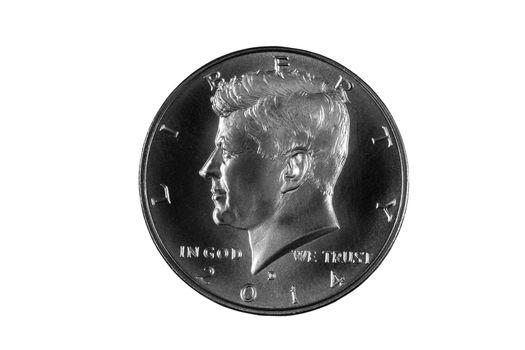 President Kennedy Silver Half Dollar