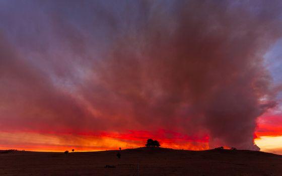 Bushfire near Braidwood