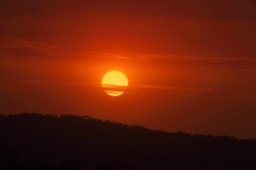 Sunset Bermagui Australia