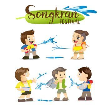 Songkran Festival, Thai New Year's national holiday