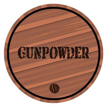 Isolated Gunpowder Keg
