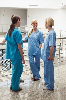 Nurses speaking