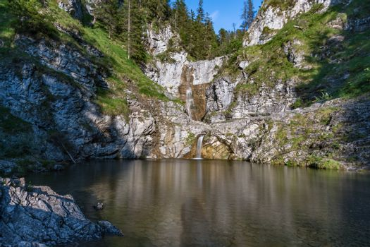 The magical waterfalls in Reutte, Tyrol