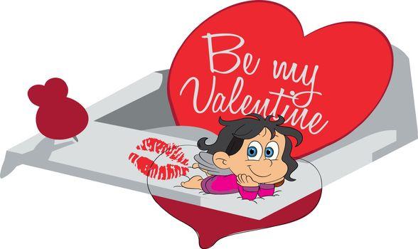 girl gift on valentine