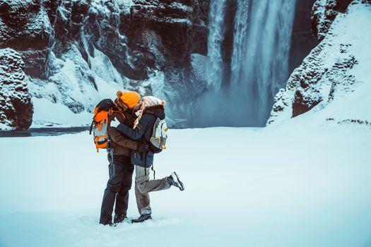Honeymoon winter vacation