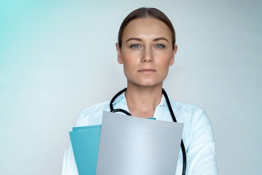 Woman doctor portrait