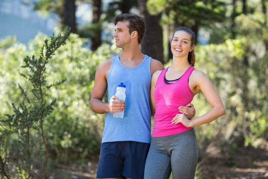 Healthy woman with partner