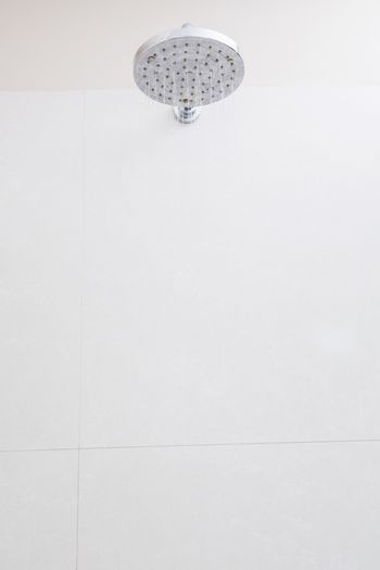Close-up of shower in the bathroom