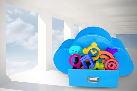 Cloud saving information