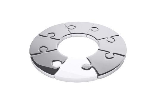 Jigsaw circle