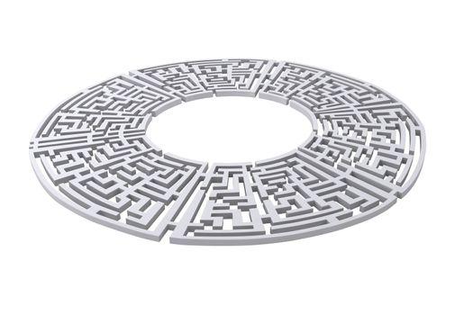 Maze circle