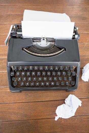 Picture of a type writer