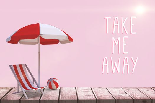 Composite image of motivation slogan