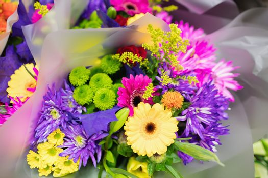 Image of a colourful bouquet