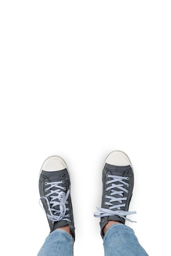 Coloured casual sneakers