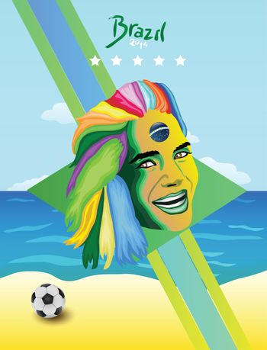 Brazil world cup vector