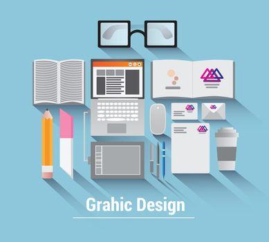 Graphic design vector