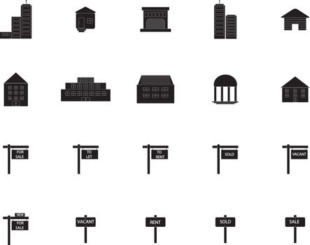 Various property icons