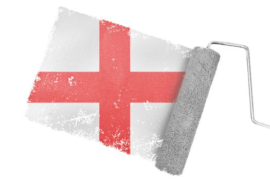 Composite image of england flag
