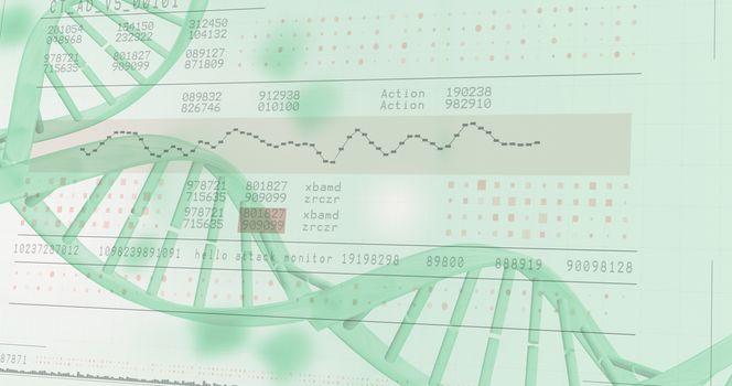 Panoramic view of information data
