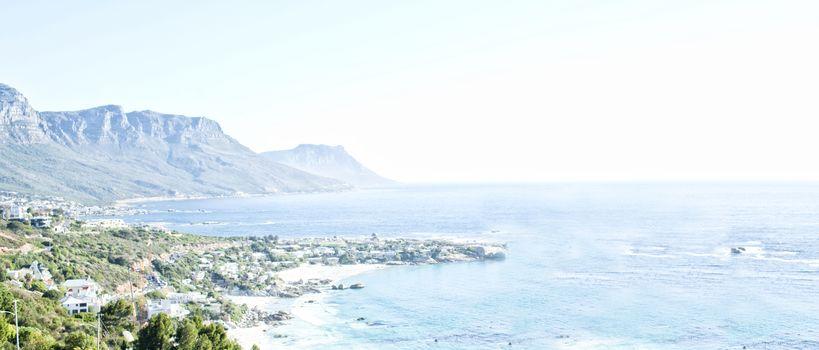 View of beautiful coastline