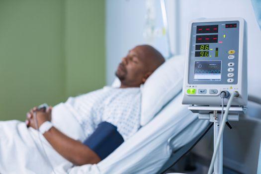 Patient monitoring machine in ward