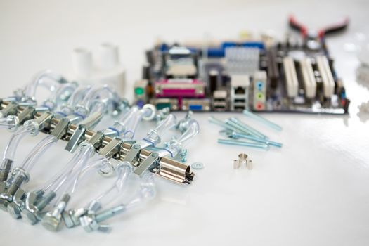 Spare parts of motherboard
