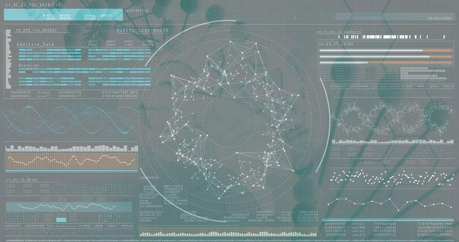 3Dgenes diagram on black background