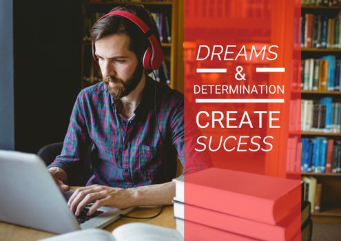 """""""Dreams and determination create sucess"""""""